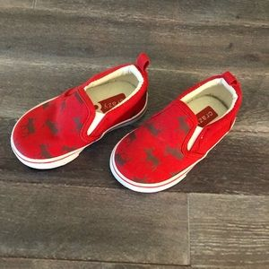 Adorable moose shoes great for boys or girls